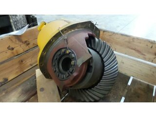 Differential rear axle for BELL B30D