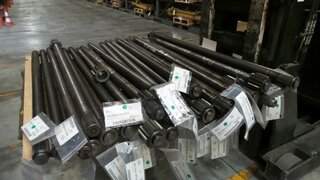 Wheel shaft for BELL B25B