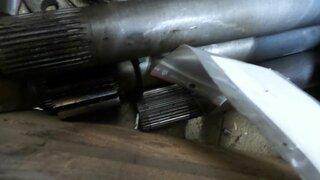 Wheel shaft for TEREX 2566