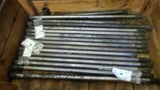 Wheel shaft for LIEBHERR A312
