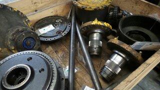 Wheel shaft for HANOMAG 55D