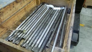 Drive shaft for LIEBHERR A316LI