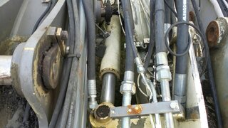 Offset cylinder for VOLVO EW140B