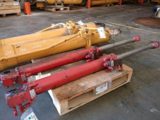 Variable boom cylinder for LIEBHERR A310