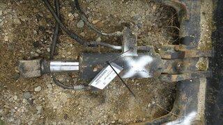 Blade lift cylinder for CASE 9007