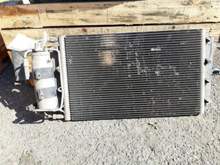 Radiator cooling for CASE CX210