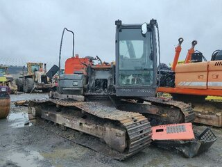 Cabin structure for HITACHI ZX210LC