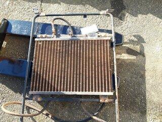 Radiator cooling for LIEBHERR R944B