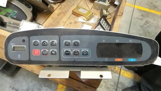 Used dashboard for public works machines