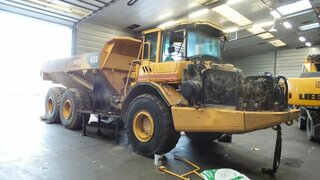 Radiator cooling for VOLVO A25D