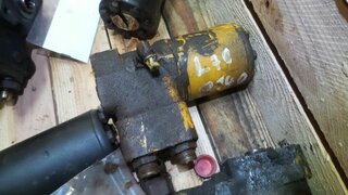 Steering unit for VOLVO L70