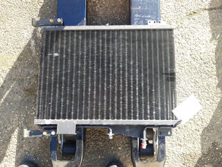 Radiator cooling for LIEBHERR R904