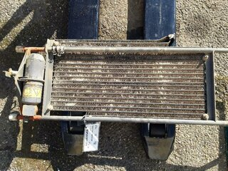 Radiator cooling for VOLVO L150E