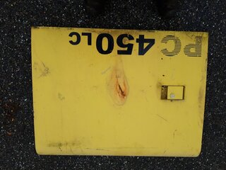 Compartment door for KOMATSU PC450-6