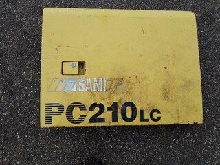 Compartment door for KOMATSU PC210-6