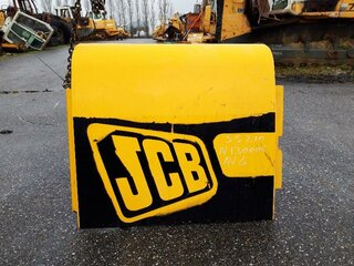 Compartment door for JCB JS210LC