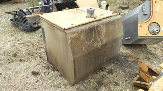Fuel tank for CASE CX330
