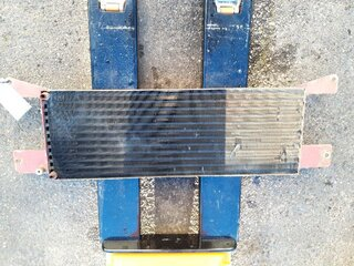 Radiator cooling for CATERPILLAR 350