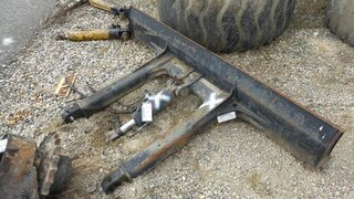 Excavator blade for CASE 9007