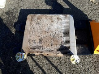 Intercooler for VOLVO A30D