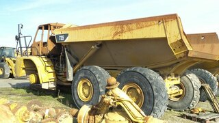 Dump for CATERPILLAR 735