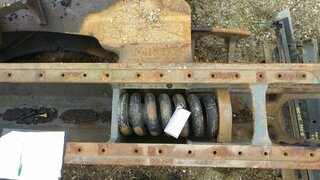 Recoil spring for LIEBHERR R944