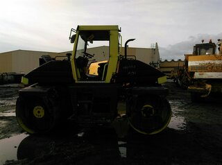 Drum rollers for AMMANN AV95