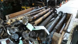 Cardan shaft for LIEBHERR A932
