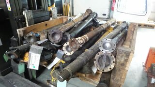 Cardan shaft for LIEBHERR A912LI
