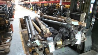 Cardan shaft for LIEBHERR A316