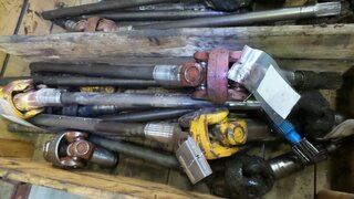 Cardan shaft for LIEBHERR A902LI