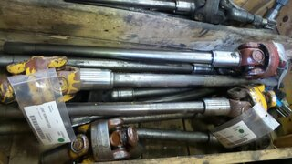 Cardan shaft for LIEBHERR A902