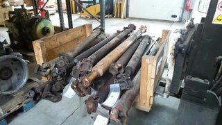 Cardan shaft for CASE 688P
