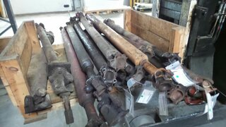 Cardan shaft for POCLAIN 60P