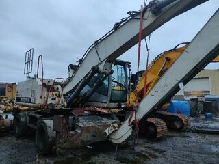 Cabin structure for TEREX TM230