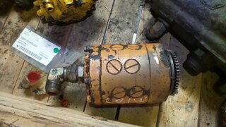 Hydraulic main pump for CASE 721