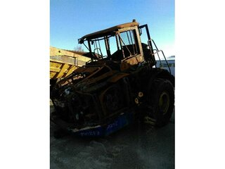 High frame of machine for VOLVO A30E