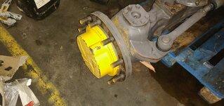Wheel reducer for MECALAC 714MW