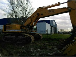 High frame of machine for LIEBHERR R964BHD