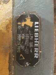 Hydraulic main pump for LIEBHERR R954BHD