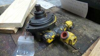 Hydraulic steering pump for FAUN F85