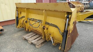 Multi-purpose-bucket for CATERPILLAR 432E