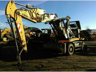 High frame of machine for LIEBHERR A914