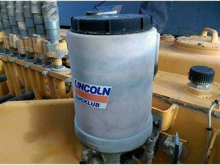 Central lubrication system for LIEBHERR R964BHD
