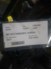 Advancement hydraulic motor for LIEBHERR L508P