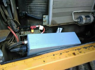 Fuse box for LIEBHERR A914