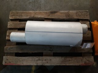 Muffler for CATERPILLAR D8H
