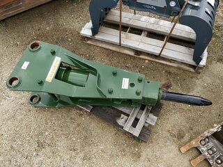 Hydraulic hammer for EUROTEC HB350
