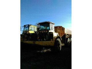 Cabin protection for VOLVO A25D