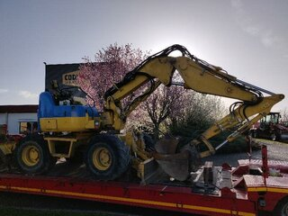 Lighting for KOMATSU PW98MR-8